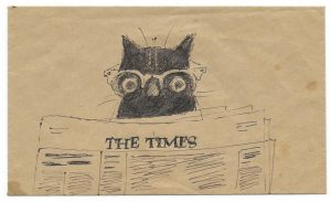 Brill cat and the Times